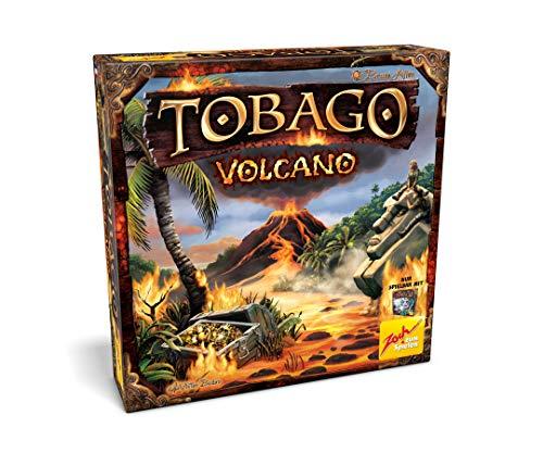 Zoch 601105120 Tobago Volcano, Erweiterung zum Kultspiel, mit 3D-Vulkan für weiteren Spielspaß, ab 8 Jahren