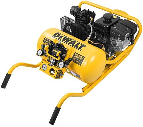 DeWalt DXCMWA5591056 Subaru Powered Chopper Wheelbarrow with H4X High Flow/High Pressure Remote Air Hub, 10-Gallon