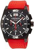 Orologio Cronografo Uomo Locman Stealth Mare Rosso 212 0212bkka-cbksir