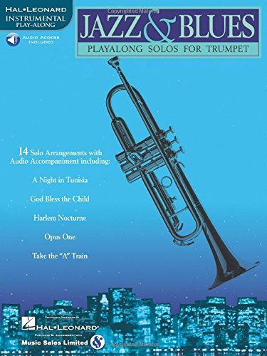 Jazz & Blues: Play-Along Solos for Trumpet [With]