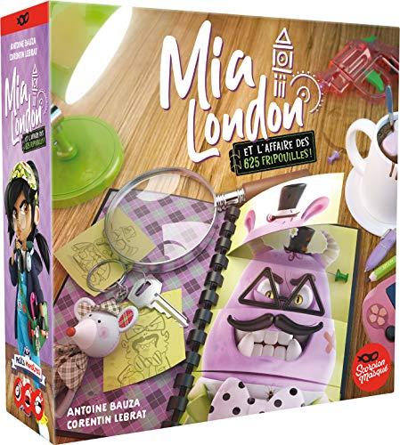 Asmodee- MIA London y el Asunto de Las 625 Fripouilles Social Infantil-Juego...
