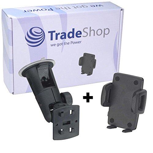 HR Richter Universal Smartphone Gripper 274144 KFZ Auto Halter Halterung und Micro Global 8 Turmsauger für Swees Godon X589 Switel 45D S5003D eSmart E2 H1 M2 M3 S4010D S5002D S5502D