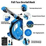 Zoom IMG-1 fenvella maschera subacquea snorkeling integrale