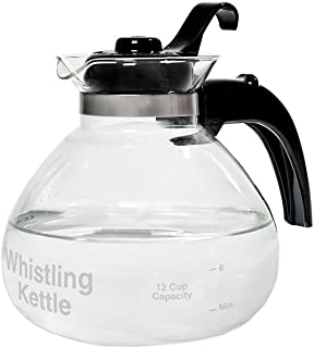 Best medelco glass stovetop whistling kettle Reviews