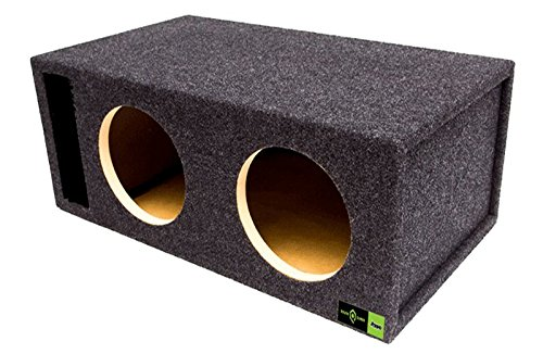 "Atrend SQ-12DQVDD Soundqubed 12"" Single Vented SPL Subwoofer Enclosure"