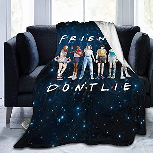 Halloween Fashion DIY Cartoon Blanket Warm Adult Super Soft Blanket with Anti-Pilling Flannel for Children/Adults/Parents/Grandparents Xmas Birthday Gift Anime 50x40