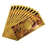 Sarada金色の壱萬円札2枚セット