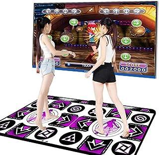 a139992e6848 QMKJ Dance Mat pc TV para niños Doble HD Reproductor inalámbrico de Juegos  Alfombra de TV