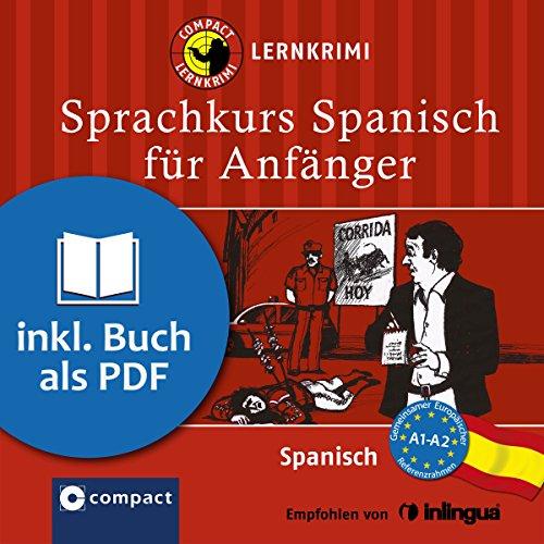 Spanisch für Anfänger (Compact Lernkrimi Sprachkurs) Titelbild