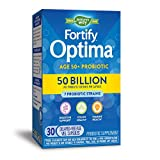 Nature's Way Fortify Optima Adults 50+ Daily Probiotic, 50 Billion Live Cultures, 7 Strains, 30 Capsules