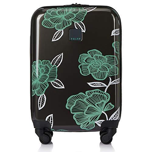 Tripp SlateSea Green Bloom Cabin 4 Wheel Suitcase