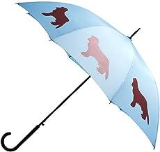 The San Francisco Umbrella Company Unisex-Adult (Luggage only) auto Open Stick rain Umbrella, Blue