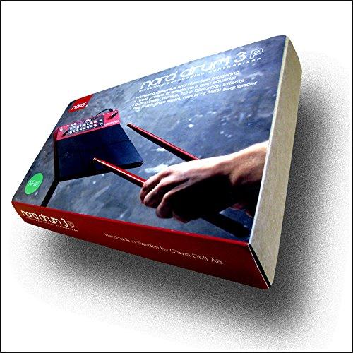 Sintetizador de percusión de 6 canales. 6 pads integrados