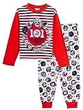 Disney 101 Pijama a juego para niños y familias de la calle dálmata de longitud completa con personaje de pijamas para niños pequeños, hermanos y hermanas multicolor 9-10 Años