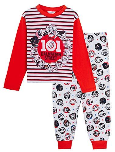 Disney 101 Pijama a juego para niños y familias de la calle dálmata de longitud completa con personaje de pijamas para niños pequeños, hermanos y hermanas multicolor 3-4 Años