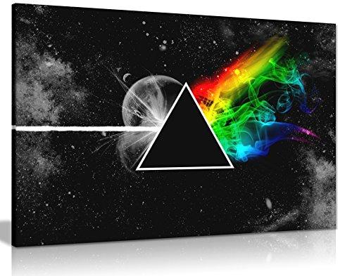 Pink Floyd Dark Side of the Moon Wall Art Print auf Leinwand Bild Kunstdruck auf Leinwand groß A176,2x 50,8cm (76.2cm x 50.8cm)