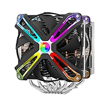 Zalman CNPS 20x CPU Cooler with 4D Patented Corrugated Fin Design RGB SYNC for Intel & AMD 140mm