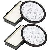 Sunnila 2 filtros HEPA compatibles con Rowenta RO7611 RO7634 RO7623 Silence Force Cyclonic para aspiradora Rowenta (sustituye ZR903701)
