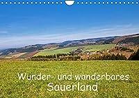 Wunder- und wanderbares Sauerland (Wandkalender 2022 DIN A4 quer): Schoenheiten der Sauerlaender Landschaft beim Wandern entdeckt von der Fotografin Brigitte Duerr (Monatskalender, 14 Seiten )