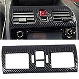 ITrims for Subaru WRX/STi 2014-2021 Center Console AC Air Vent Outlet Cover Trim 1PC Car Accessories Decoration ABS Carbon Fiber