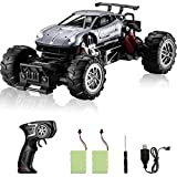 EXCELLENT DRIVING PERFORMANCE -- Due To The Built-in Powerful Motor, This 1:14 Simulation Ratio Two-wheel Drive Remote Control Toy Car Have Extremely Explosive Power, And The Speed Can Reach 25km/h; Provide Strong Power Strength, Makes It Easy To Mov...