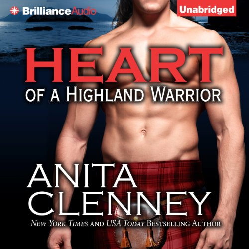 Heart of a Highland Warrior audiobook cover art