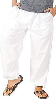 IHGTZS Pants for Men, Men Pure Color Overalls Casual Pocket Sport Work Casual Trouser Pants