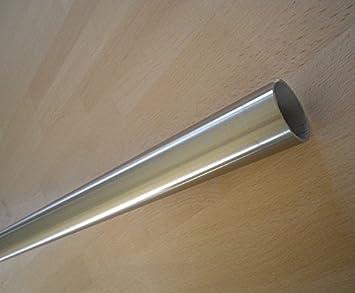 Edelstahl Rundrohr /Ø 42,4mm 20-500cm 330cm
