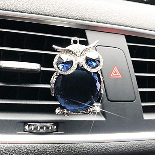 Sunfauo Ambientador Coche Olor Nuevo Ambientador Coche Nuevo Interior del Coche Accesorios para Mujer Coche Essentials Coche Fresco Accesorios de Coche Blue