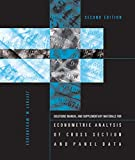 Student's Solutions Manual and Supplementary Materials for Econometric Analysis of Cross Section and Panel Data, second edition (The MIT Press)