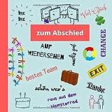 Zum Abschied: Abschiedsbuch Kollegen | lustige Erinnerung bei Jobwechsel, Ruhestand, Pension, Rente...