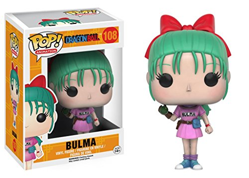 Funko Dragonball Z Pop! Animation Vinyl Figure Bulma 9 cm Mini Figures
