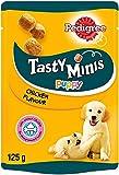 Pedigree, snack para cachorro, 8 packs de 125 grs, sabor pollo
