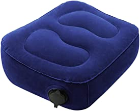 inflatable travel foot rest pillow inflatable foot rest foot rest ottoman foot rest tfoot pillow airplane for Foot Rest on Airplanes, Buses, Trains, and Kids to Sleep on Long Flight