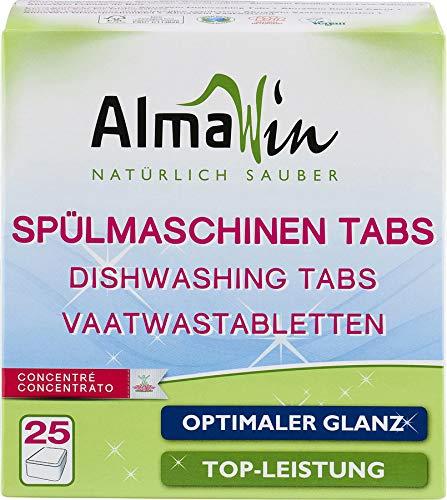 AlmaWin Bio Spülmaschinen-Tabs (6 x 25 Stk)