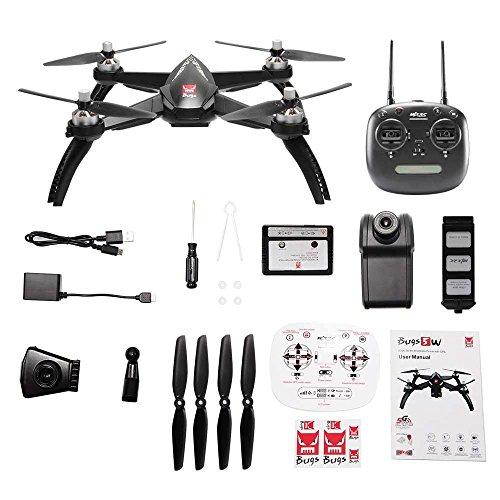 WSWRJY Mini Control Remoto RC Drone/5 VatiosRC Drone con WiFi FPV 1080 P HD Kamera GPS Folgen Mir Modus RC Quadcopter Vs Mjx B2W RC Hubschrauber