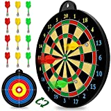 Magnetic Dart Board - 12pcs Magnetic Darts (Red Green Yellow) - Excellent Indoor Game and Party...
