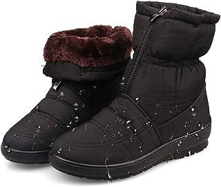 [ジーメイ・House] 雪用ブーツ スノーブーツ ショートブーツ 撥水加工 ウインターブーツ 防寒靴 防水 アウトドアシューズ