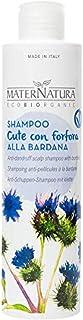 Maternatura Shampoo Cute con Forfora Alla Bardana, Beauty Routine Cute con Forfora - 250 Ml