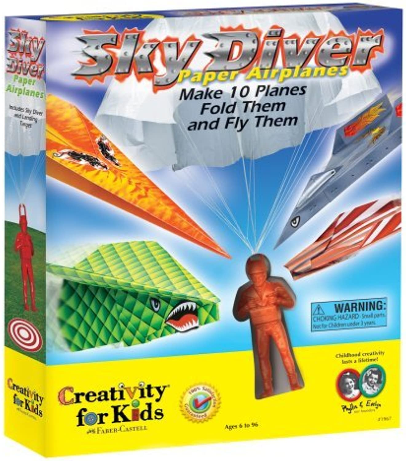 Creativity for Kids Sky Diver Paper Airplanes by Creativity for Kids