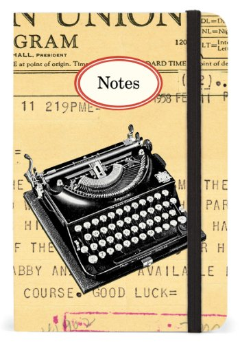 Cavallini & Co. Typewriter Small Lined Notebook