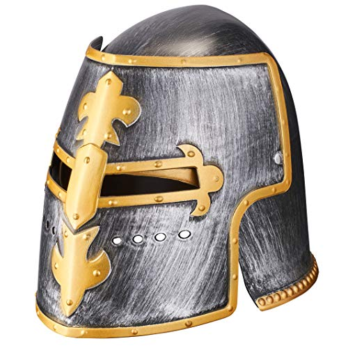 Balinco Ritterhelm | Ritter Helm | Krieger | Kämpfer | Gladiator - für Damen & Herren als perfektes Accessoire zum Ritterkostüm