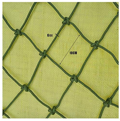 Sale!! DLYDSSZZ Net Rope Balcony Stair Window Railing Protection Net Army Green Outdoor Safety Net C...