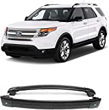 MotorFansClub Roof Rack Cross Bars Fit for Compatible with Ford Explorer 2012 2013 2014 2015 Luggage Rack Rails Crossbars