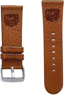 Affinity Bands Missouri State Bears 24mm Premium Leather Watch Band - 2 Lengths - 3 Leather Colors - Officially Licensed