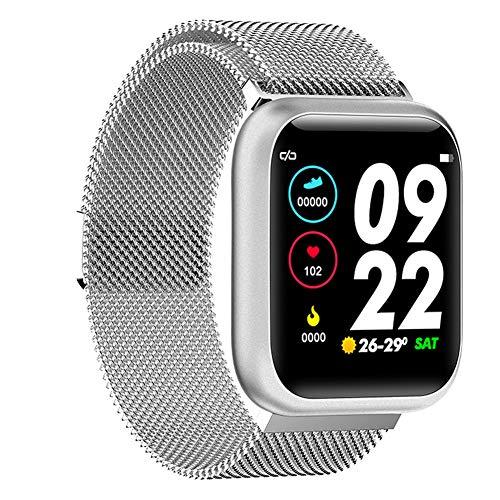 Fitness Trackers Calorie Step Counter, Stappenteller Horloge met Aangesloten GPS voor Kinderen Vrouwen Mannengrijs