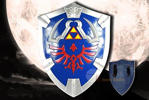 Swordmaster - Disfraz de jugador de fantasa Hylian Shield Legend of Zelda