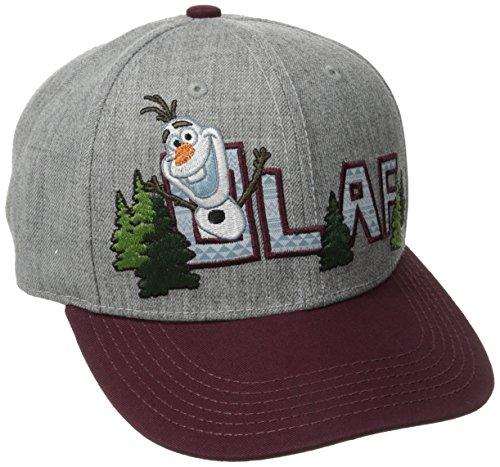 Disney Frozen Olaf Embroidered Snapback Baseball Cap