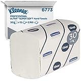 Kleenex 06773000 6773, Toallas de Manos Intercaladas Ultra Super Soft, 30...