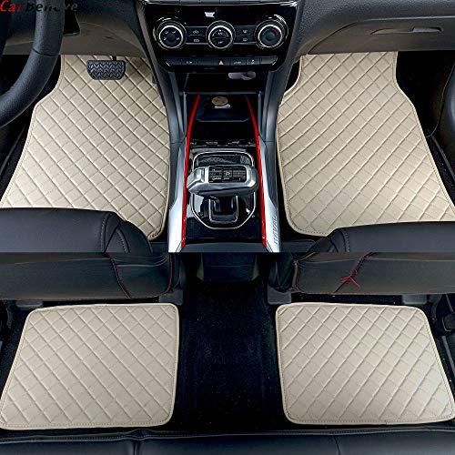 Piaobaige Alfombrilla de Coche para Audi A5 Sportback A3 A4 B5 B7...